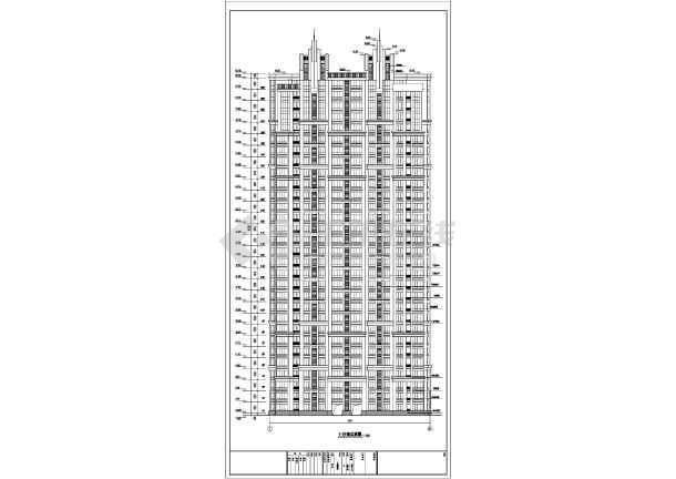 三十三层人防剪力墙住宅结构设计施工图(含建筑图)-图2