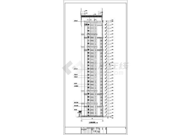 三十三层人防剪力墙住宅结构设计施工图(含建筑图)-图3