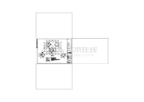 点击查看五层框架结构私人住宅施工图(含建筑图)第2张大图