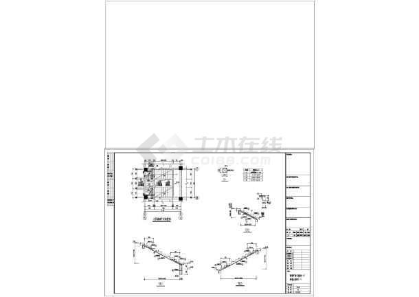 五层框架结构私人住宅施工图(含建筑图)-图3