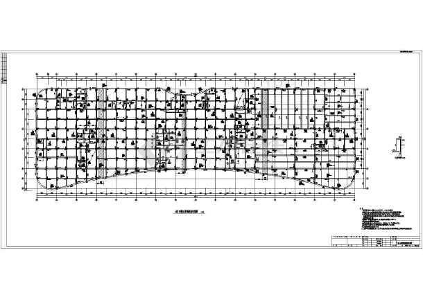 【黑龙江】地上五层框架(含少量剪力墙)结构公寓楼结构设计施工图-图一
