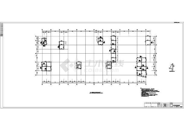 【黑龙江】地上五层框架(含少量剪力墙)结构公寓楼结构设计施工图-图二