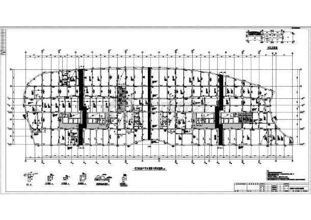 点击查看【黑龙江】双栋地上二十七层剪力墙结构公寓楼结构施工图第2张大图