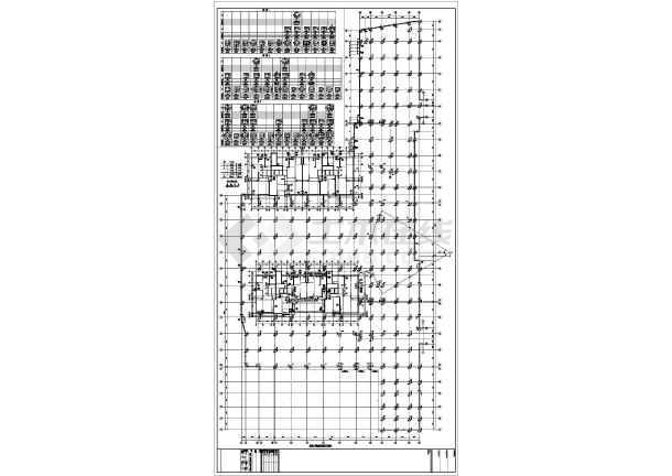 【广东】地上三层框架结构商业裙房结构设计施工图-图2