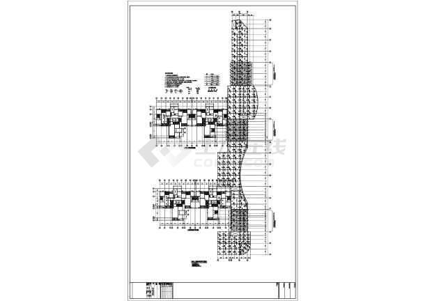 【广东】地上三层框架结构商业裙房结构设计施工图-图3