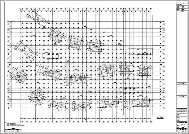 【天津】框架结构地下车库结构设计施工图-图2