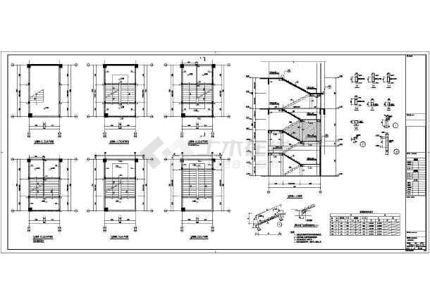 【浙江】地上三层框架结构商业楼地上部分结构设计施工图-图3