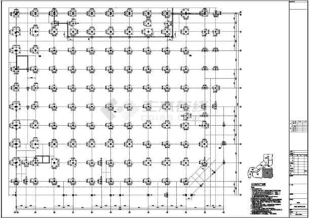【河南】地上四层框架结构G区商业区结构设计施工图-图3