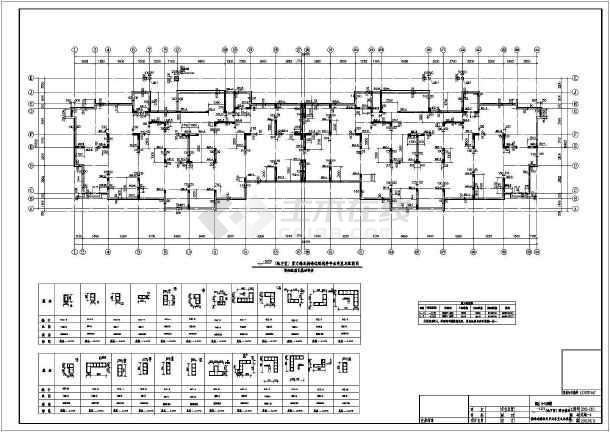 点击查看【山东】二十六层剪力墙结构安置楼房结构施工图第2张大图