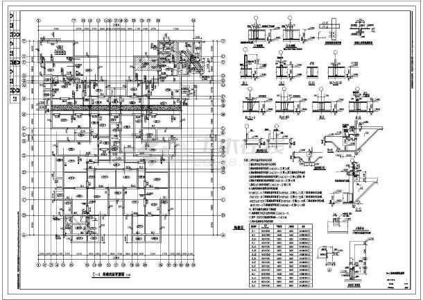 【北京】地下两层地上二十八层剪力墙住宅结构设计施工图-图一
