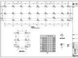 【山东】地上三层框架结构商业楼结构施工图(局部二层)图片1