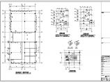 【江苏】地上三层框架结构商业楼结构设计施工图图片2