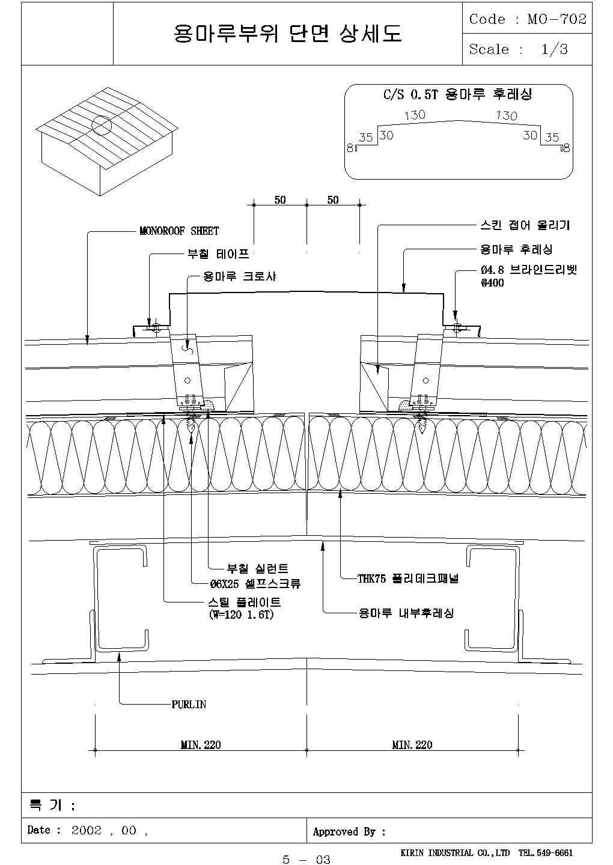 韩国某公司复杂多层板材围护系统图纸,共8张图图片3