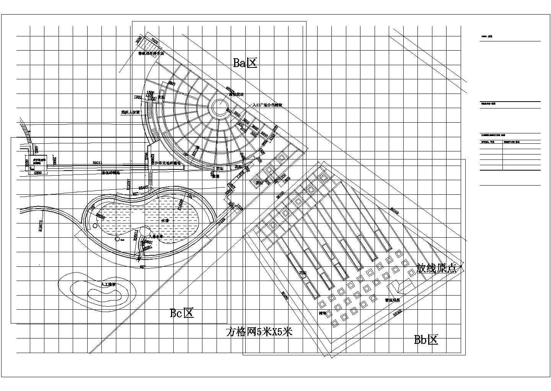 [山东菏泽]生态休闲绿地植物配置设计施工图图片1