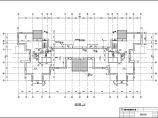 标准层电梯间放大平面图(高层建筑施工图)图片1