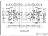 标准层电梯间放大平面图(高层建筑施工图)图片3
