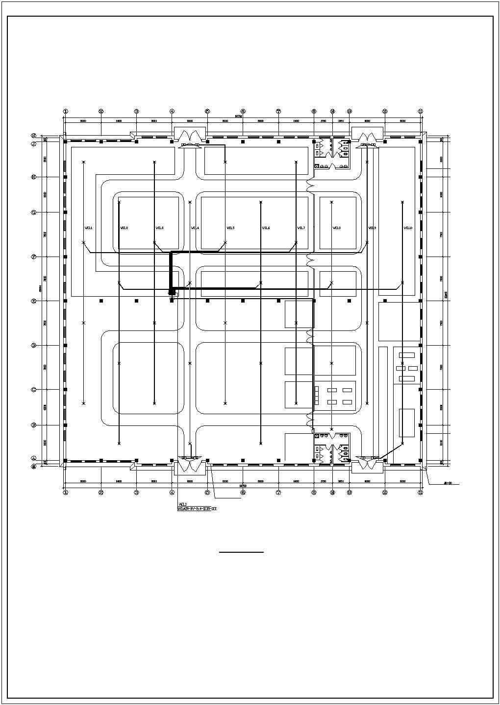 厂房电气施工图纸图片1