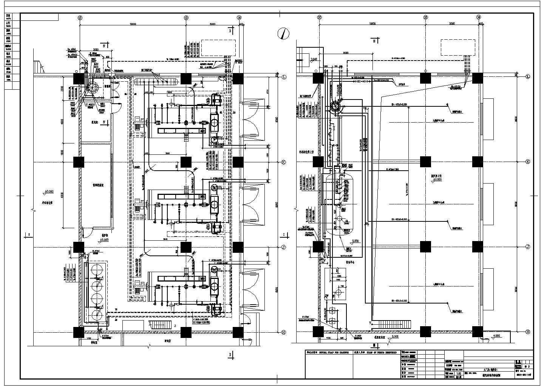 某厂房锅炉房管道布置图图片1