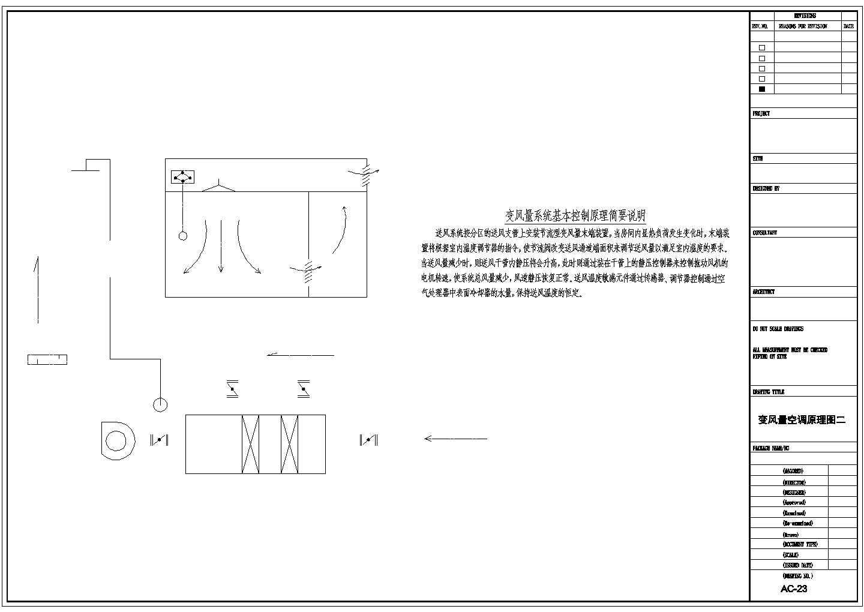 某研发大楼变风量空调设计图纸图片3