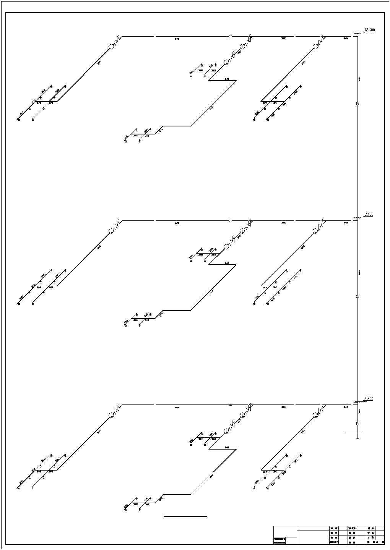 12000�O四层批发市场建筑给排水图纸图片1