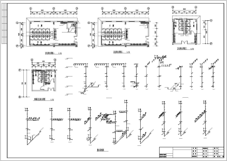 12000�O四层批发市场建筑给排水图纸图片2