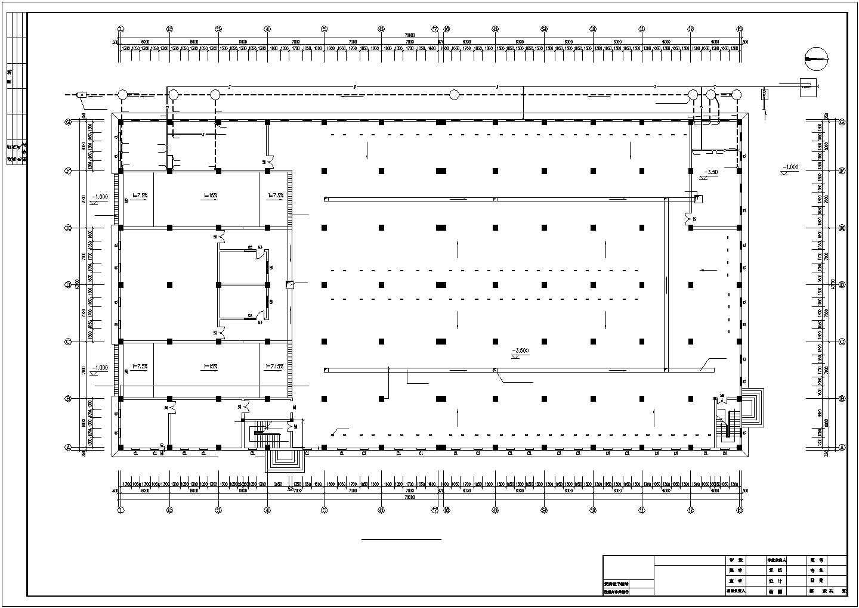 12000�O四层批发市场建筑给排水图纸图片3