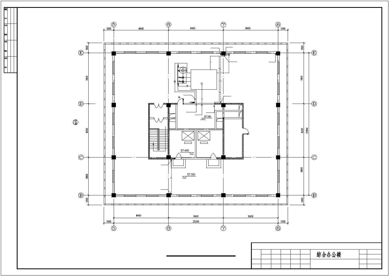 某15层综合办公楼给排水施工图图片3
