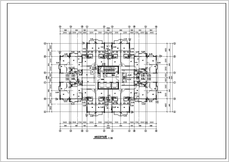 某地上二十八层建筑给排水图纸(共45张图纸)图片1