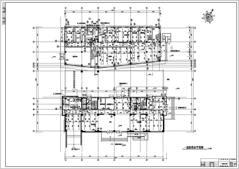 某11600�O高层办公楼给排水设计图及计算书图片1
