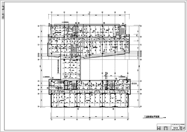 某11600�O高层办公楼给排水设计图及计算书图片2
