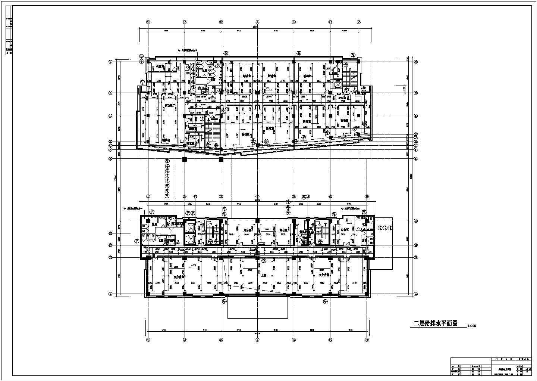 某11600�O高层办公楼给排水设计图及计算书图片3