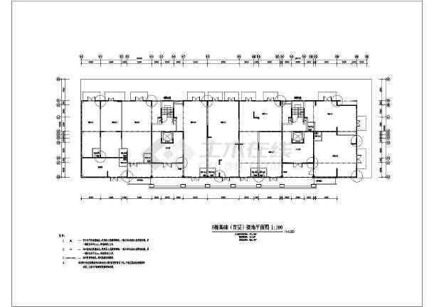 某别墅建筑电气施工图纸-图二