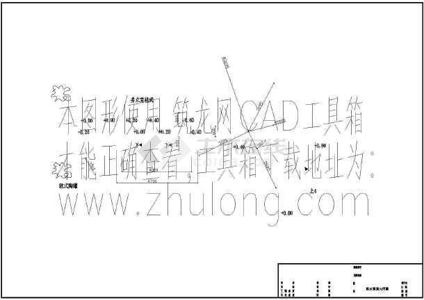[中山]某机电公司环境园林施工图-图二