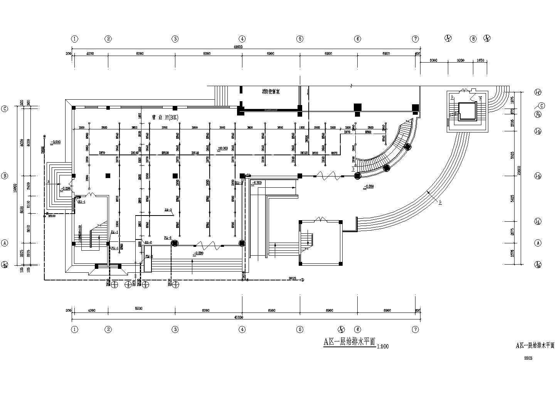 某二类高层办公楼给排水施工图图片3