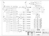 某造船厂坞台电气设计图纸(卷扬机控制台电气原理图)图片1