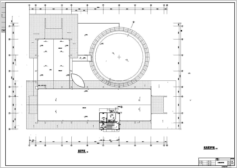 某六层办公楼电气设计cad图纸(地下一层)图片2