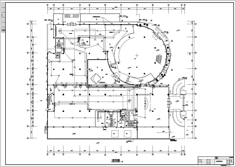 某六层办公楼电气设计cad图纸(地下一层)图片3