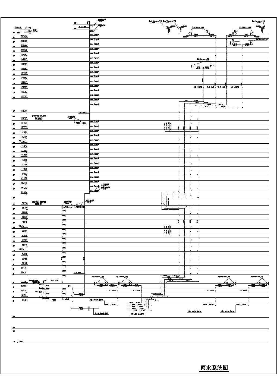 上海某超高层办公楼给排水系统图(地上54层,地下4层)图片1