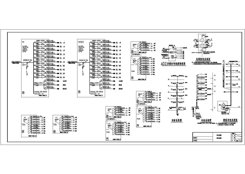 某多层住宅电气设计图纸(含照明系统设计)图片1