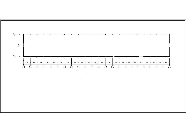 某1166平米钢结构厂房电气施工图图片2