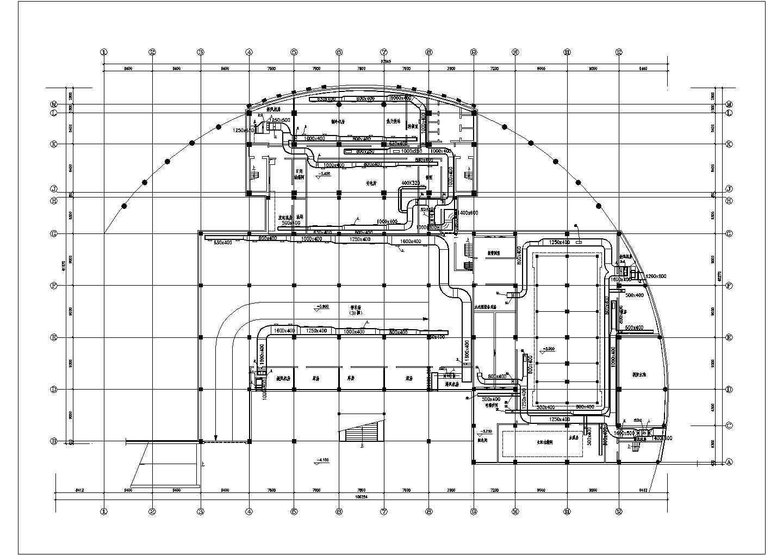 地下室中央空调系统设计施工图(共10张图)图片3