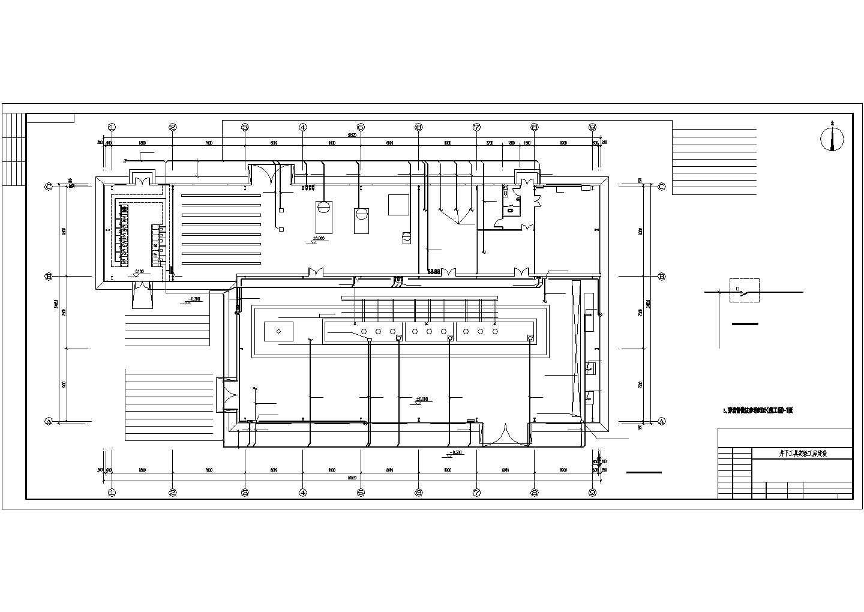 某实验厂房电气施工图(13张)图片3