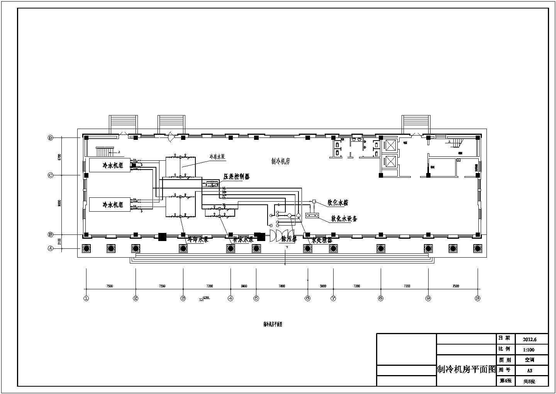 【广州】8312�O八层综合办公楼空调设计施工图图片3