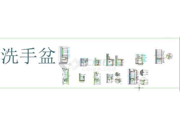 室内设计施工节点大全CAD图纸-图二