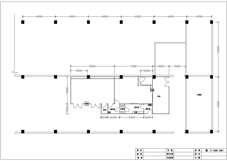 三十万级洁净厂房空调设计施工图图片1