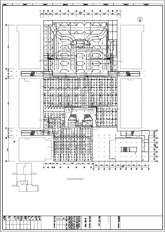 某地下商场停车场电气设计图图片1