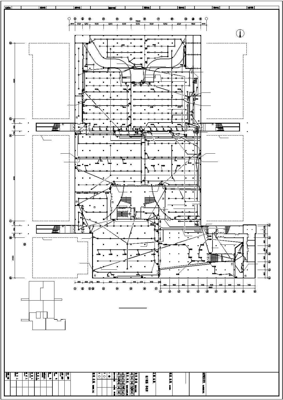 某地下商场停车场电气设计图图片3