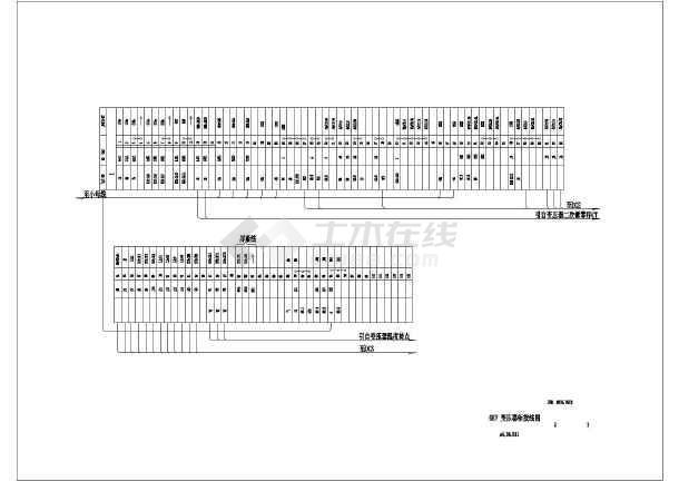 6KV高压柜电气施工cad图纸(含变压器柜原理)-图二