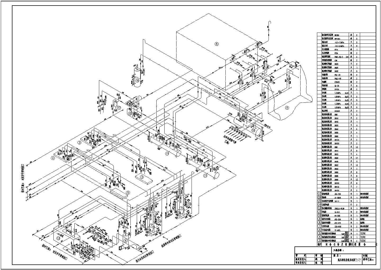 某2万多平大型冷库制冷设计cad图纸图片2