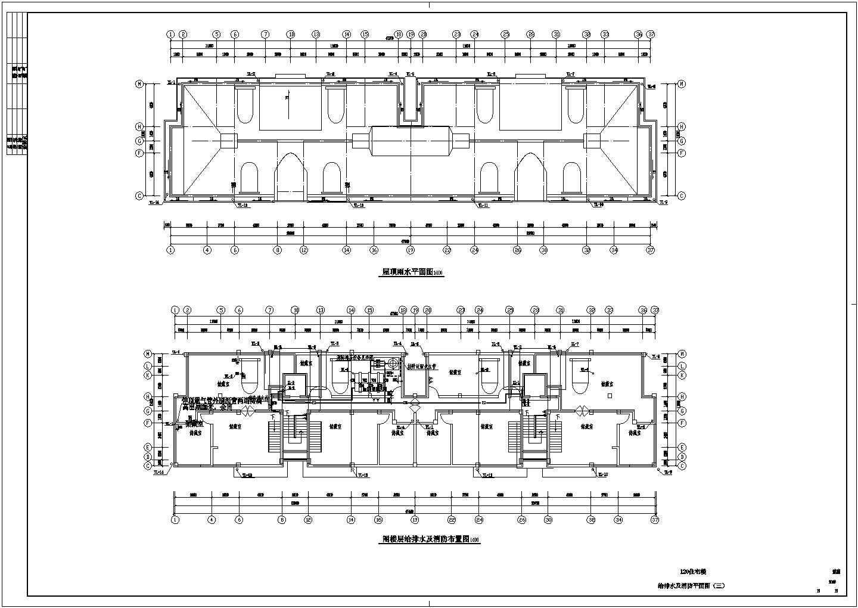 某地上十一层建筑给排水图纸(共7张图纸)图片3